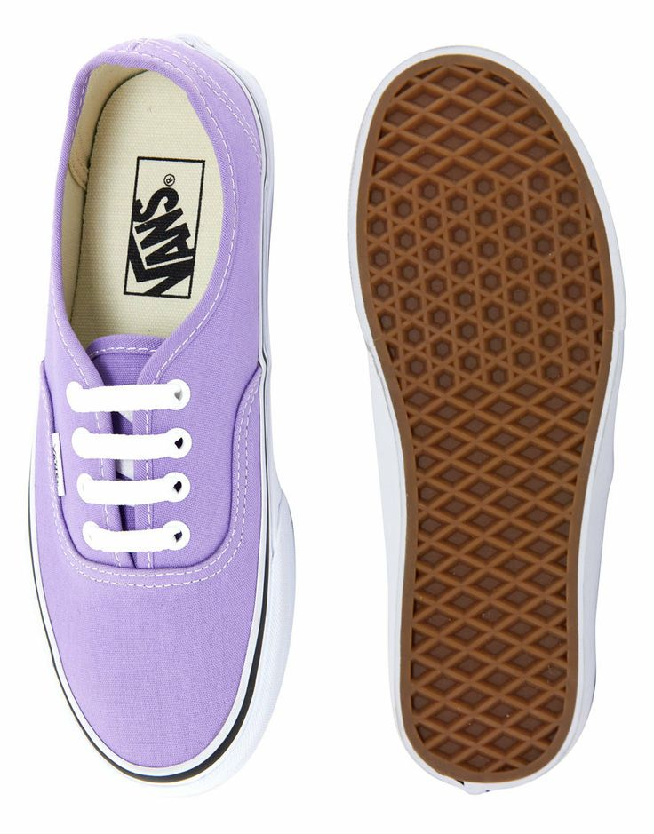 Vans | Vans Authentic Lilac Trainers at ASOS