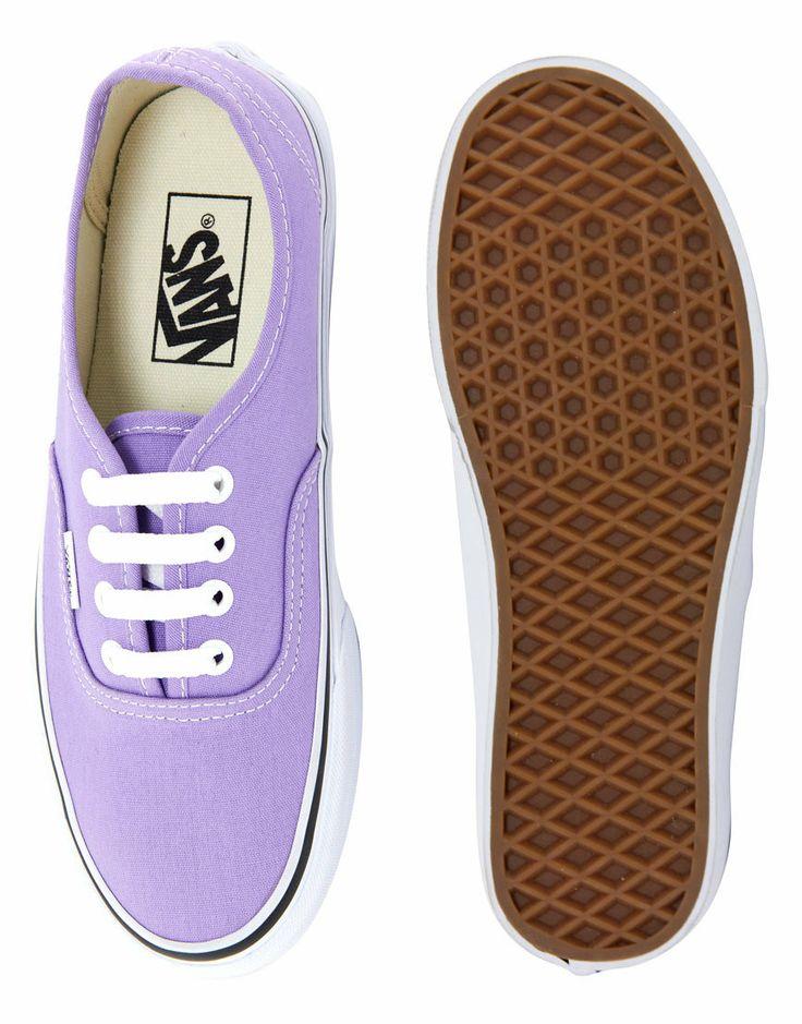 Vans | Vans Authentic Lilac Trainers at ASOS