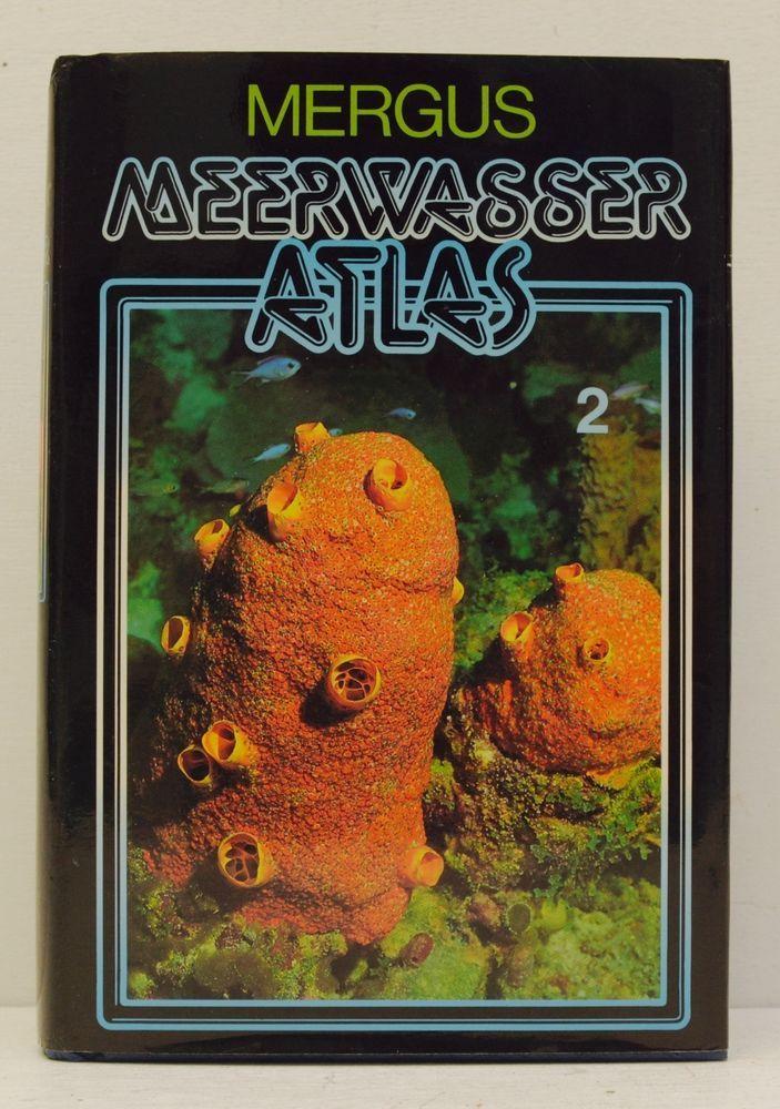 MEERWASSER ATLAS 2 WIRBELLOSE TIERE 1995 Erhard Moosleitner Aquatics Book