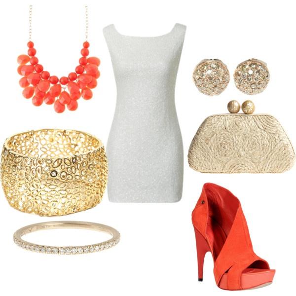 .Fashion Beautiful, Beautyful Fashion, Coral, Style 3, Orange Shoes