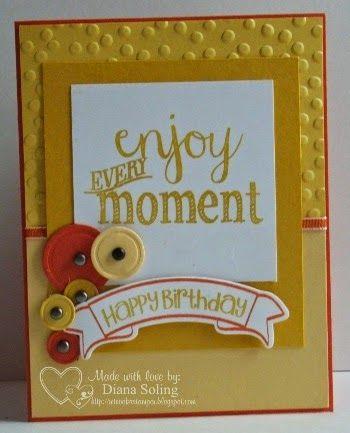 Enjoy Every Moment Mojo#358