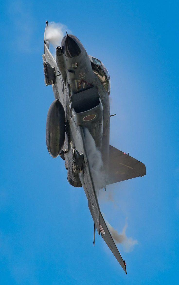 McDonnell Douglas F-4EJ Kai Phantom II #jetfighter
