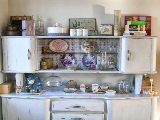 Arredamento in stile anni '50 - Parete della cucina
