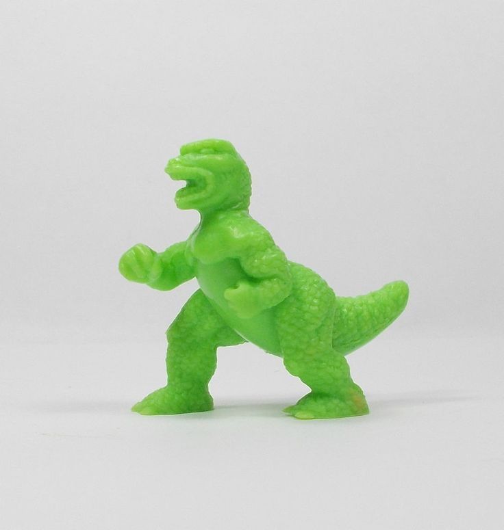 Monster In My Pocket - Series 1 - 6 T-Rex - Neon Green - Mini Toy Figure