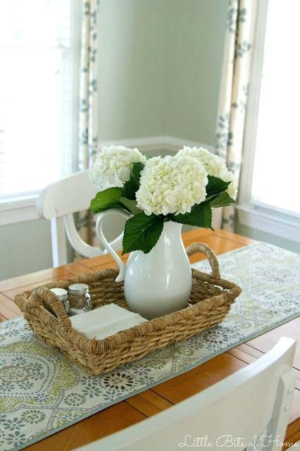 Centerpiece For Kitchen Table Ideas Best Everyday Table Centerpieces
