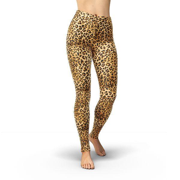 Leggings Leopard Print