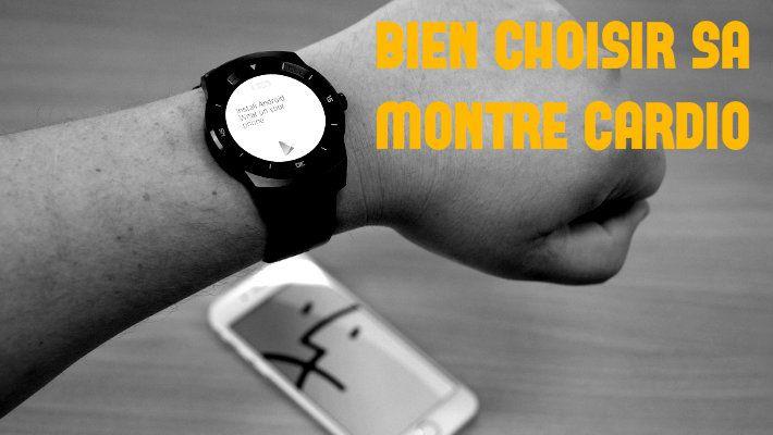 Coureur débutant bien choisir sa montre cardio ou cardiofréquencemètre