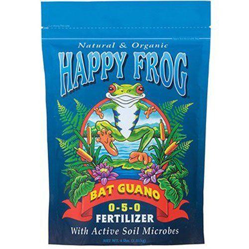 FoxFarm FX14056 FoxFarm Happy Frog High Phosphate Bat Guano Fertilizer (4)