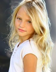 Natural Blonde. I hope my kids are this beautiful!                                                                                                                                                                                 More