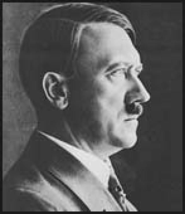 A Biography of Adolf Hitler: Photograph from the USHMM, courtesy of Geoffrey Giles.