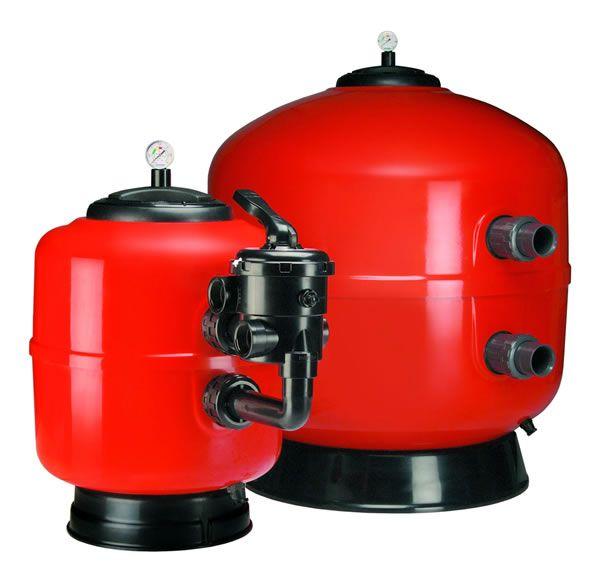 Polyester kum filitrasyon tankı 6 yollu vanası