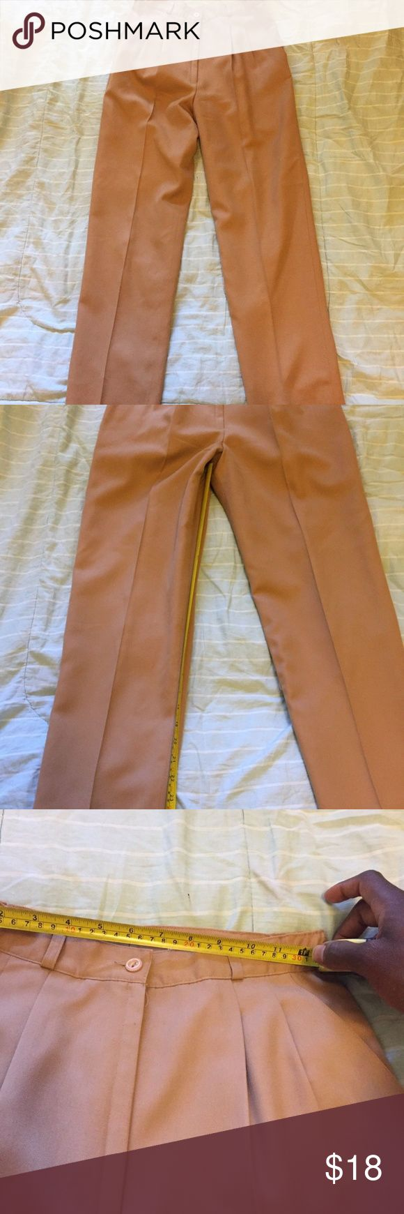 Women's Bassonova Dress Pant Slacks Size 6 Taupe This listing is for a pair of Bassonova dress slacks for women in a size 6. These pants are an all over Taupe color with side pockets and belt loops. Can go great with a simplistic combination for work or for a night out. No tears, rips or stains. It is in like new condition. Do not miss out on such an attractive offer Bassonova Pants Trousers