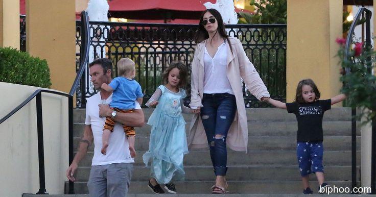 Megan Fox Defies   The Critics To Let Adorable Son Noah Dresses