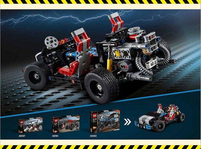 lego technic creations instructions