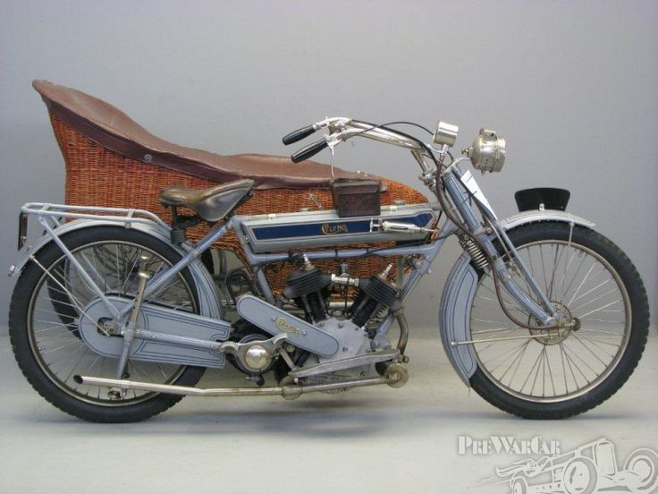 Clyno 2 cyl 644 cc sv V- twin combination 1911 for sale