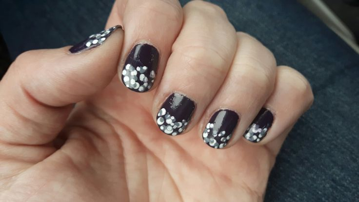 Plum with dots