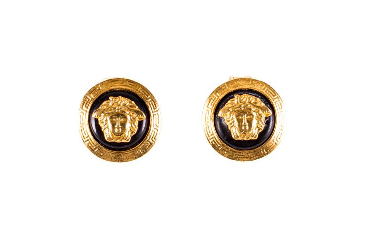 Vintage Versace VSC-016 Earrings