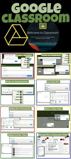 I chose this resource as a quick reference for step-by-step guide to using Google Classroom. Screen shots, arrows and instruction bubbles are used to show how to easily navigate within Google Classroom.