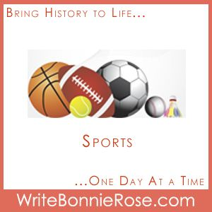 Timeline Worksheets by Topic - Sports