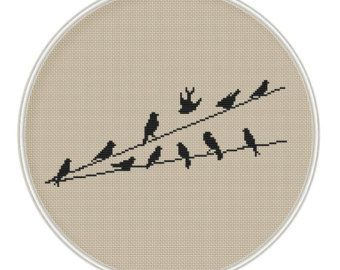 Birds Cross Stitch Pattern Cross Stitch от MagicCrossStitch