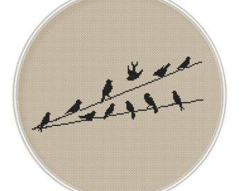 Birds Cross Stitch Pattern Cross Stitch от MagicCrossStitch
