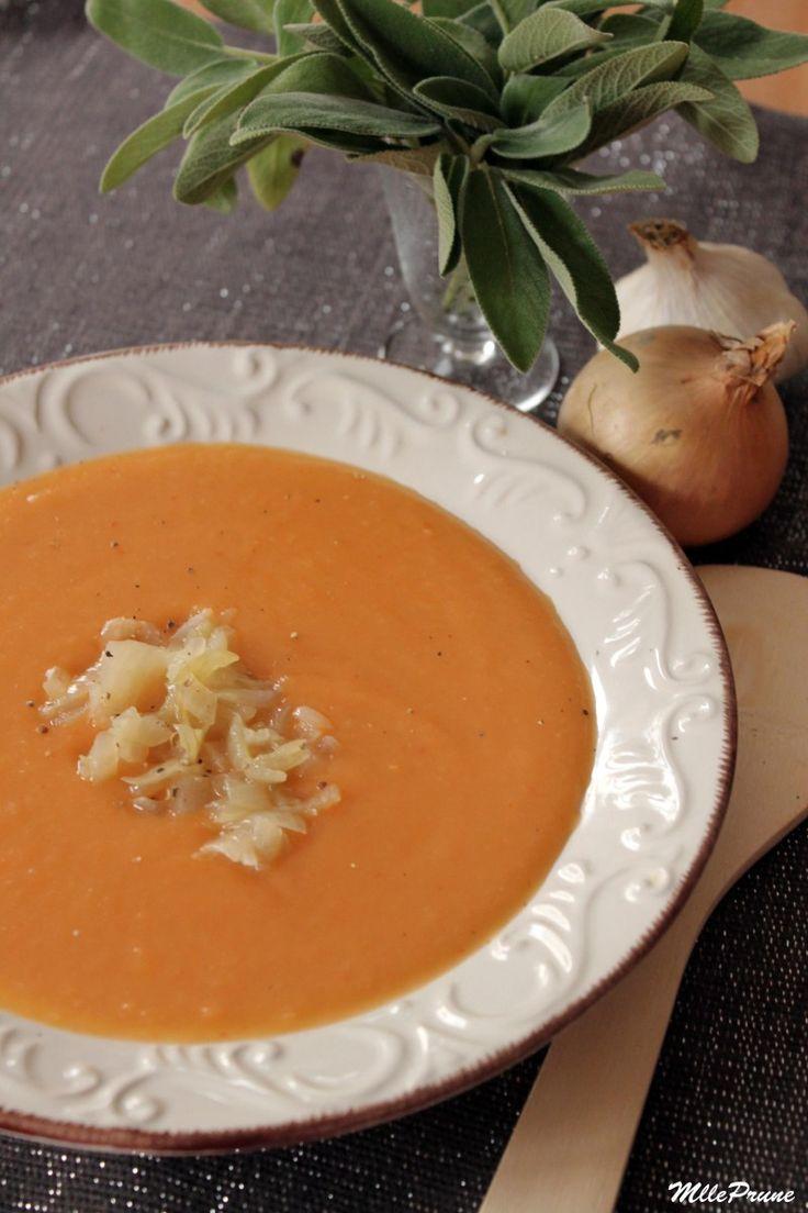 Avec le retour de la grisaille et des basses températures, les soupes sont toujours les bienvenues à notre table ! En tout cas moi, j'adore ça ! J'ai toujours aimé manger des soupes, mê…