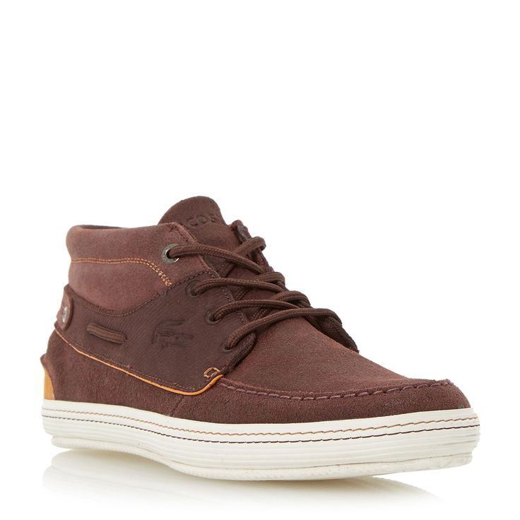 Lacoste Meyssac Slip On Casual Trainers, Brown