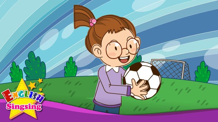 Let's play soccer. baseball. (Suggestion) - Education English song with ...