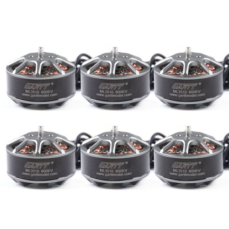 147.60$  Watch now - http://alih5q.shopchina.info/go.php?t=32360196886 - 6 PCS GARTT ML 3510 600KV  Brushless RC Motor For Multicopter  Quadcopter Hexacopter Drone 147.60$ #magazineonlinewebsite
