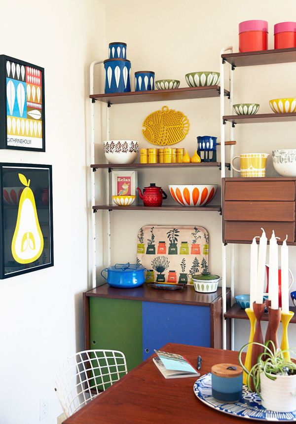 Love this inspiring shoot of Lisa Congdon's home.