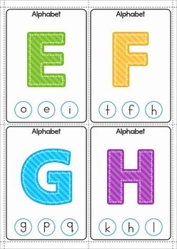 Clip It! - Alphabet FREE