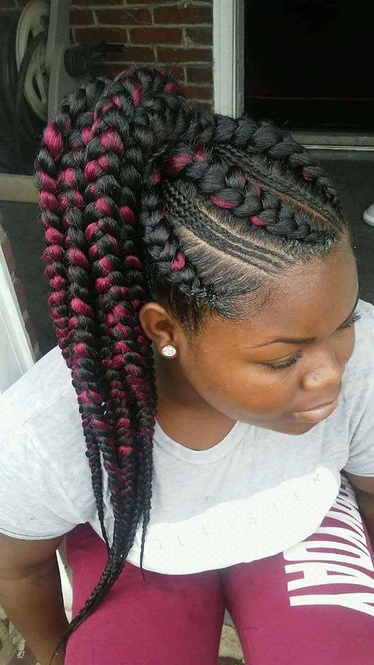 Pin By Morgan Sampson On A Mara S Hair Braids Braided