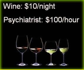 I'll take wine..