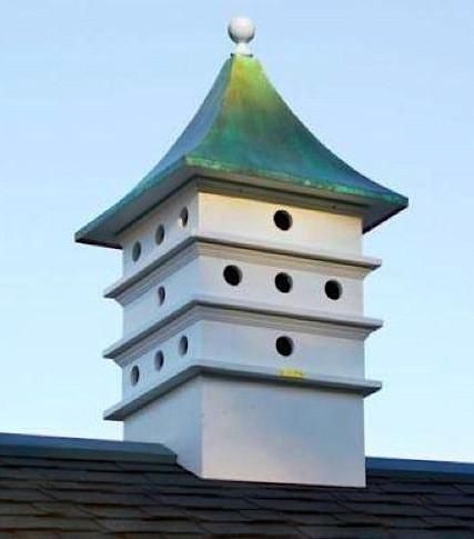 Estate Architectural Martin Cupola adds curb appeal with elegant style. Definitely for the birds with 24-compartments, stunning cupola will not crack, rot, spli