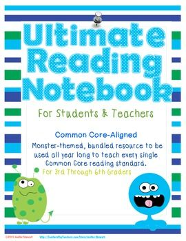 Ultimate Reading Notebook for Students and Teachers-Common