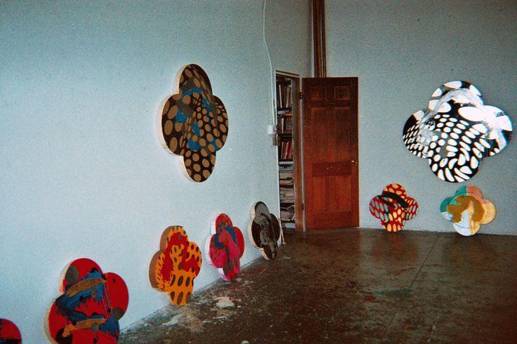 Max Gimblett's Studio Lani Mitchell lanimitchell.com