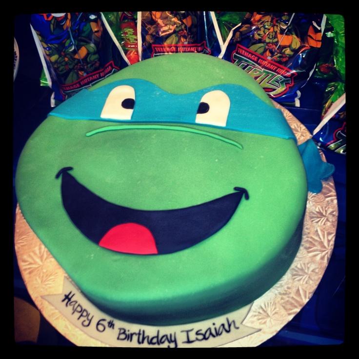 19 Best Cake Decor Images On Pinterest Ninja Turtle Birthday Cake