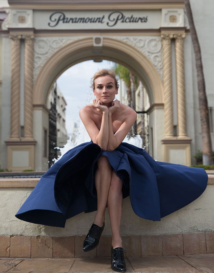 Diane Kruger | Cover Story | The Violet Files | VIOLET GREY #fashion #Hollywood #photoshoot