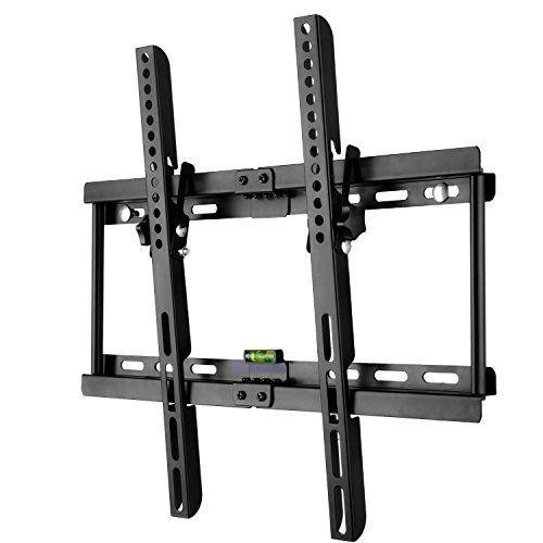 BPS Type-M Ultra-Plat TV Support Mural Universel Inclinable vers le bas 15° réglable pour 32″-55″ (80-140 cm) télévision écran plat 4K 3D…