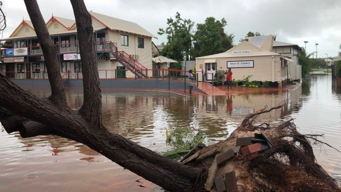 #OUTBACK #FLOODING #SWD #GREEN2STAY Broome smashes annual rainfall record in less than two months as Cyclone Kelvin caps big wet By Rebecca Dollery Updated about 2 hours ago