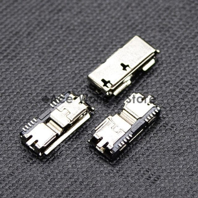 High Quality 5pcs Hi Speed Micro Usb 3 0 Female 10pin Smd Smt Socket Pcb Soldering Connectors Review Micro Usb Usb Connectors