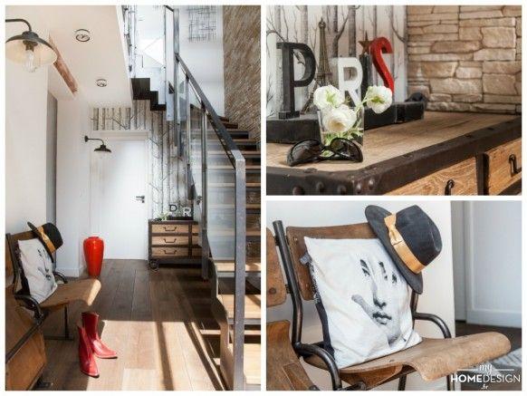 Les 304 meilleures images propos de un escalier en acier for Maison avec toit en verre