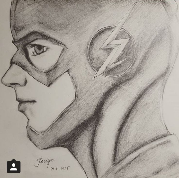 drawing of a really cool flash