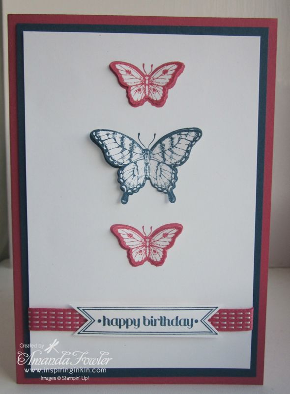 Stampin' Up! cards by Inspiring Inkin'