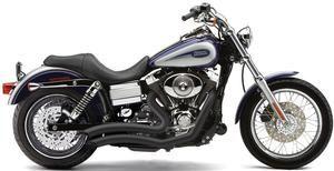 Image of Cobra Speedster Shorts Swept Black- Harley Davidson FLD Switchback Models 12 and newer - BLV6229B