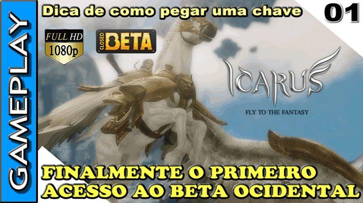 RAIDERS OF ICARUS ONLINE - Jogando no CLOSED BETA - Dica de como pegar u...