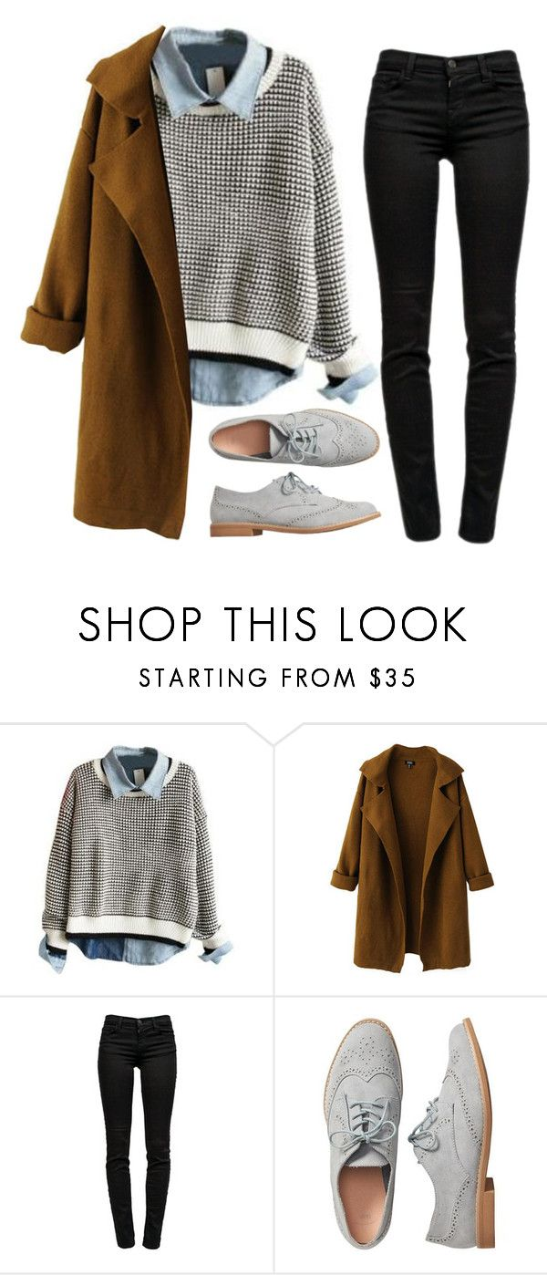 """""""Untitled #1521"""" by milesofsmiles12345 ❤ liked on Polyvore featuring Chicnova Fashion, J Brand and Gap"""
