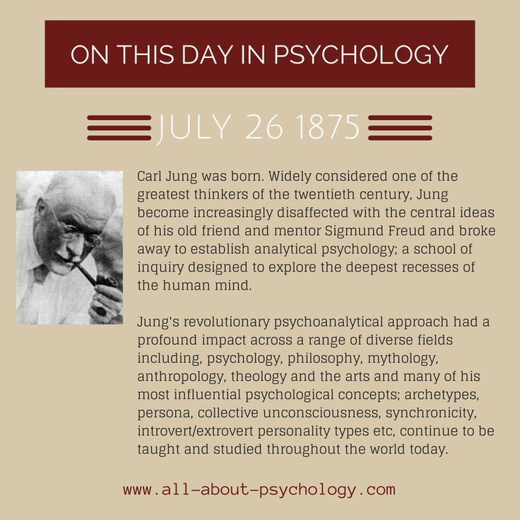an overview of the work by famous psychologist carl jung (this summary was produced for my introductory classes) jung – psychology ©peter sjöstedt-h carl jung – bio – carl gustav jung (1875 – 1961) is one of the most influential of all psychologists.