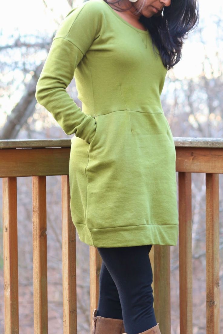 Zaaberry: Sweatshirt Dress for Me // My Creative Process