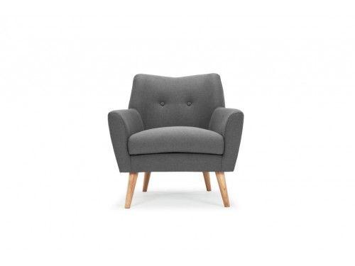 Henley, Chair, Stella steel, oak legs